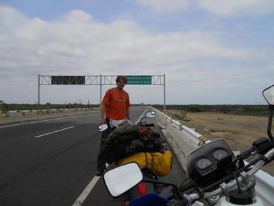Crossing into Peru